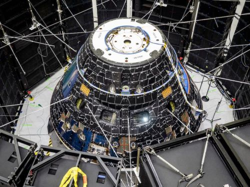 Final assembly and test milestones on tap for NASA's first Orion moon ship