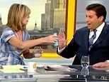 Sober James Argent is forced to turn down a mojito TWICE during GMB