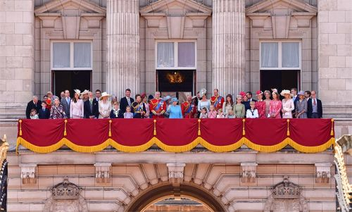 The Queen and Prince Philip's incredible home at Buckingham Palace is jaw-dropping