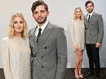 Laura Carmichael and Michael Fox attend launch of new Range Rover at The Royal Opera House