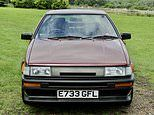 Time-warp Toyota Corolla AE86 with one lady owner sells for record £46,250