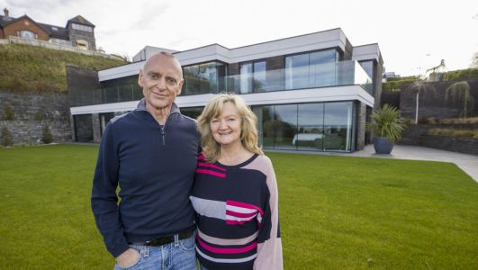 Northern Ireland's Hollywood Hills: Millionaire pumps entire fortune into row of dream homes near Bangor