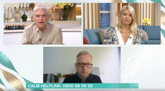 Phillip Schofield reveals mental health struggles
