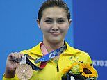 Joy for Australian diving star Melissa Wu as she FINALLY scoops an individual Olympic medal