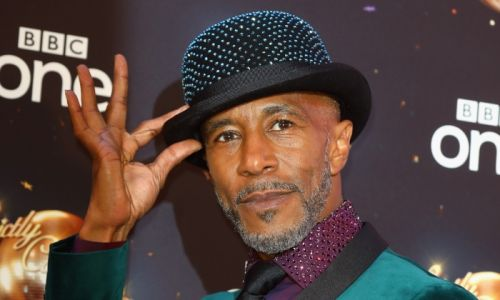 Strictly star Danny John-Jules causes chaos during morning interview - watch