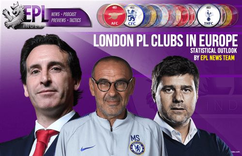 London PL clubs in Europe: Statistical Outlook