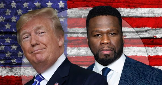 50 Cent slams Lil Wayne's photo with Donald Trump despite saying he would vote for president himself