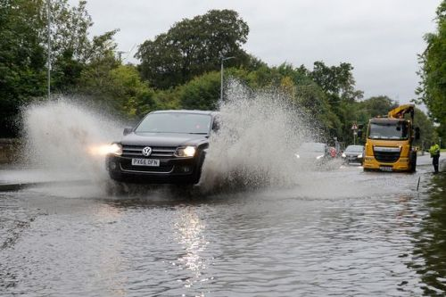 Scotland hit by travel chaos as flooding and strong winds batter country