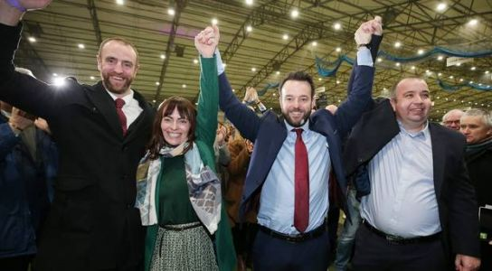 Foyle: Colum Eastwood wins back seat for SDLP with record breaking victory