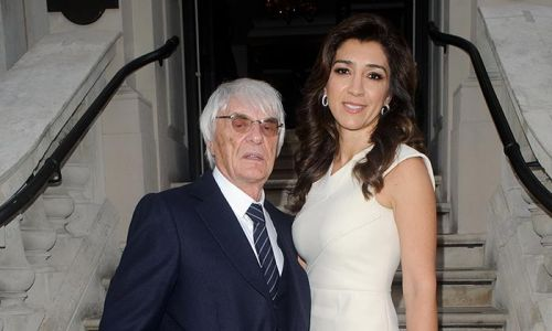 Bernie Ecclestone, 89, and wife Fabiana welcome first baby boy and reveal name