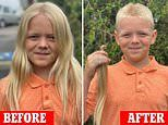 11-year-old boy donates 12 INCHES of hair to nonprofit that makes wigs for sick children