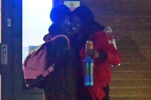 Strictly's Katya and Nicola Adams look the best of pals as they laugh and hug