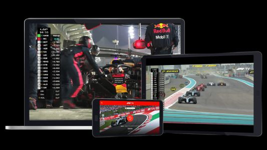 The F1 TV app is now available on Apple TV