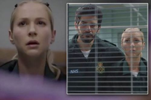 Tearful Casualty fans praise ex-EastEnders actress Maddy Hill over harrowing death storyline
