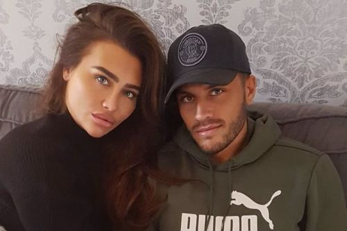 Lauren Goodger says she keeps kissing new beau Charles Drury in his sleep