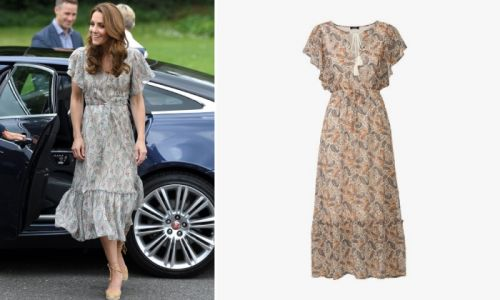 This £9.99 Lidl dress is exactly like Kate Middleton's ruffled number