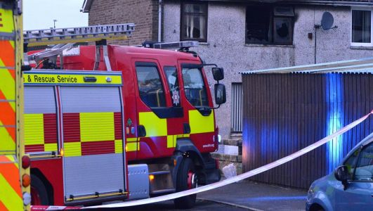 Ballymena community in shock after child dies in house fire