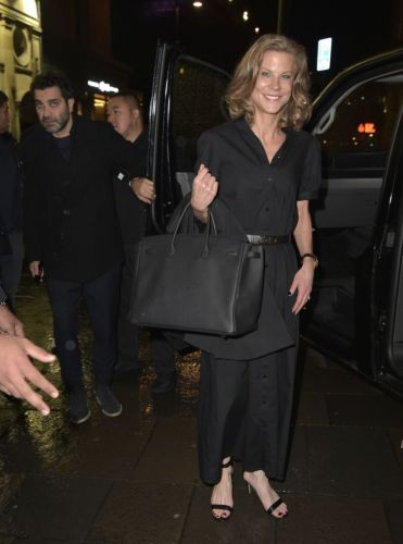 Amanda Staveley spotted on Newcastle night out