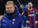 Ronald Koeman defends Lionel Messi after red card for punching Athletic Bilbao opponent