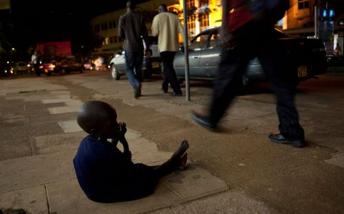 Ugandan capital to fine citizens who give money to street children