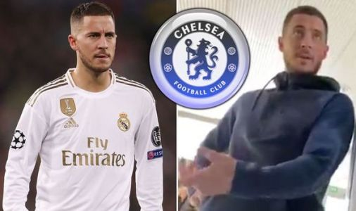 Real Madrid star Eden Hazard makes Chelsea comeback admission to fan in secret video