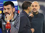 Porto boss Sergio Conceicao hits out at Man City manager Pep Guardiola's 'unpleasant' attitude