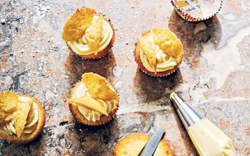 Butterfly cakes with vanilla buttercream recipe