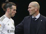 Zinedine Zidane reveals Gareth Bale asked NOT to be included in Real Madrid squad to face Man City
