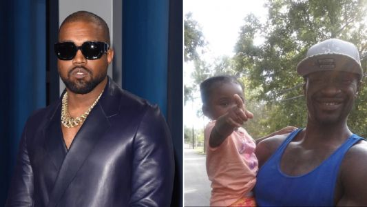 Kanye West sets up college fund for George Floyd's daughter as part of $2million donation spree