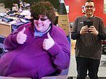 Father-of-four who lost 13 STONE thanks his vegan diet for dramatic transformation