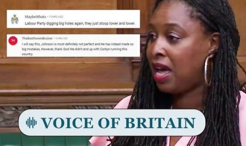 Britons FURIOUS as Corbyn ally Dawn Butler ejected from Commons - 'Labour digging holes!'