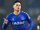James Rodriguez tells Everton fans it is 'a pity not to have played in Goodison Park with you'
