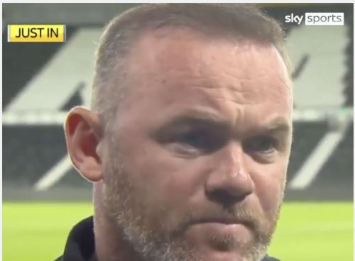 Wayne Rooney reveals the pathetic lengths he's had to go to in order to get in touch with Derby County owner
