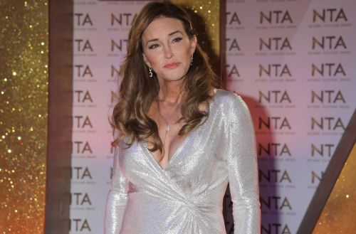 Caitlyn Jenner shimmers on National Television Awards red carpet as she prepares for I'm A Celeb reunion