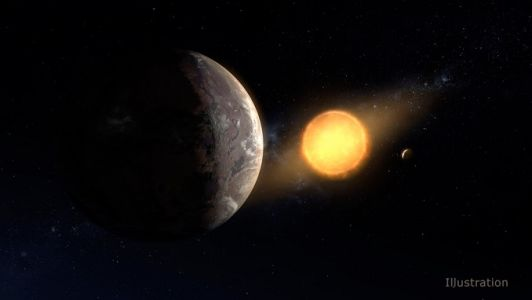 Earth-size habitable-zone planet found in archived Kepler data
