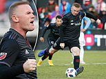 DC United 3-1 New York City FC: Wayne Rooney scores twice as hosts secure play-off place