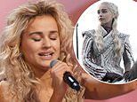 Emilia Clarke's body double auditions for Little Mix's The Search a