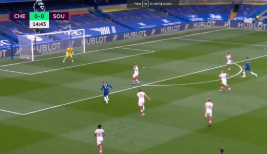 : Timo Werner scores first Premier League goal after brilliant turn
