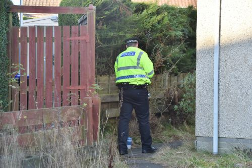 Police presence after man seriously injured in Aberdeenshire town