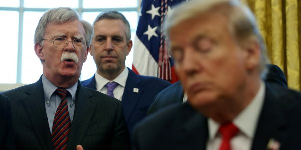 John Bolton just shattered Trump's defense in the impeachment trial and squeezed Senate Republicans into a corner