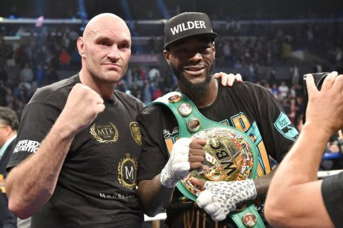 Anthony Joshua aims dig at Deontay Wilder and Tyson Fury over date of rematch