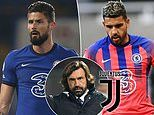Juventus 'eyeing double swoop for Chelsea duo Olivier Giroud and Emerson Palmieri'