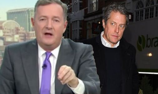 'What you said doesn't count' Piers Morgan tears into Hugh Grant over tactical vote plan