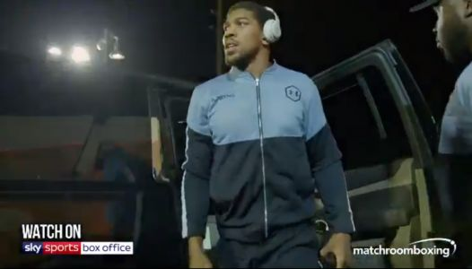 Anthony Joshua gets LOST on the way to stadium ahead of world title rematch with Andy Ruiz