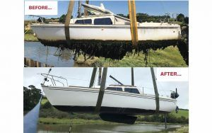 How to restore a 22ft trailer-sailer in 10 easy steps