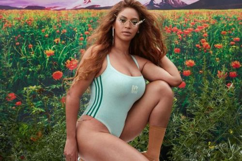Beyonce drives fans wild as she poses in slinky swimsuit for new Ivy Park range