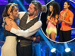 Strictly's Seann Walsh and Katya Jones are SAVED after kiss scandal. as Vick Hope is sent home