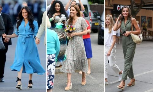 Royal ladies love summer espadrilles! See how Kate Middleton, Meghan Markle and more style them