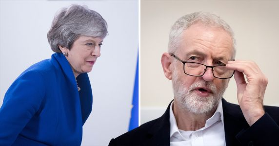 Theresa May accuses Labour of taking too long in Brexit negotiations
