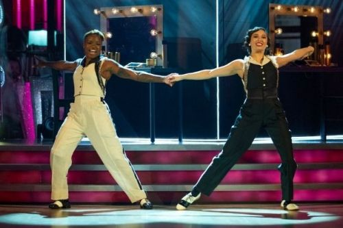 Nicola Adams wins praise from judges as she makes Strictly history